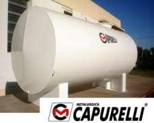 Tanque de Acero 5.000 Lts. Capurelli
