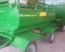 Acoplado para GAS OIL 3.000 Lts Ombu. Nuevo