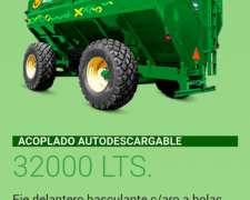 Acoplado Tolva Autodescargable 32000lts. Montecor