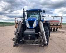 Tractor New Holland Modelo T7.245 sin Levante Dual - Usada