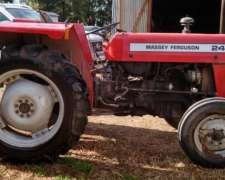 Tractor Massey Ferguson 240 con LH3 Puntos