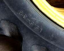 Llantas con Cubiertas para Tractor John Deere 15.5-38