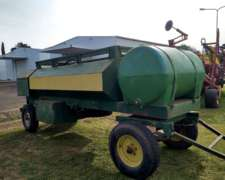 Tanque Combinado 3000 Lts con Bomba, Auxilio, Cajones, Agua