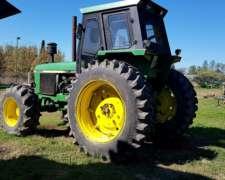 Tractor John Deere 3550 año 1996