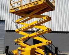 Alquiler Plataforma Elevadora Tijera 18m Haulotte Diesel JLG