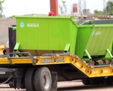 Contenedor De Residuos Para Camión Compactador