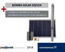 Bomba Solar Sqflex Grundfos
