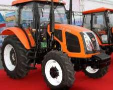 Tractor Nuevo 4X4 -100hp - con Cabina Aire Acondicionado