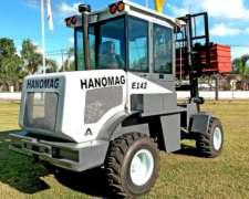 Autoelevador Hanomag E143 Articulado