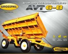 Acoplado Volcador Trivuelco AVT6-8 Grosspal