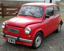 Fiat 600 Mod. 1971 Estado Impecable.
