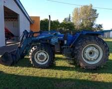 Tractor New Holland 7630 D/T con Pala Cargadora