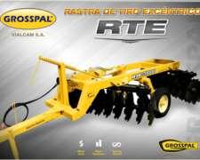 Rastra De Tiro Excentrico Rte - Grosspal