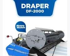 Plataforma Draper Piersanti DF-2019 - 19 Pies Nuevo