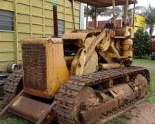 Traxcabator Caterpillar, Con Hoja Frontal Y Pala