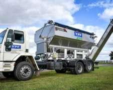 Tolva S/camión de 12 o 15 M3 Inoxidable + Cinta