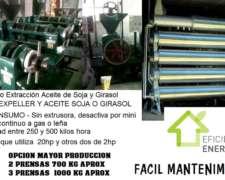 Mini Fabrica Aceite Soja - Expeller Soja - Lista P Trabajar