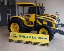 Tractor Pauny 180a, Motor MWM 80 HP, con Techo Parasol
