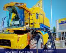 New Holland CS660 con Cabezal - Duales