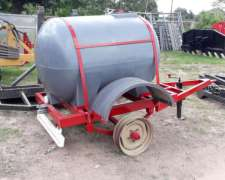 Carro Tanque de 1.000 Litros para Agua