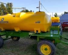 Acoplado Tanque De Plástico 3750l