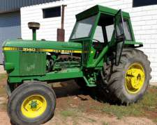 Tractor John Deere 3140 Rodado Paton