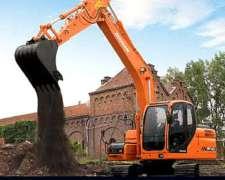 Excavadora Sobre Oruga Doosan DX 140