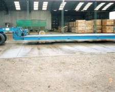 Acoplado Hidráulico P/ 7500kg