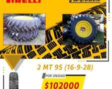 2 Cubiertas Pirelli MT 95 (16-9-28)