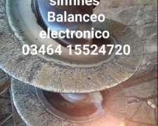 Cementados de Sinfines, Rotores Axiales y Balanc Electrónico
