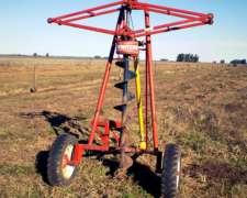 Hoyadora Transportable C/ Levante Mecánico, Hidráulico o MAN