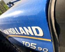 New Holland TD 5.90 con Pala