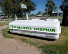 Tanque Rectangular 8000 Lts. P.r.f.v. Plasticos Laspiur SRL
