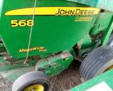 Roto John Deere 568 muy Buena Solo 9000 Royos