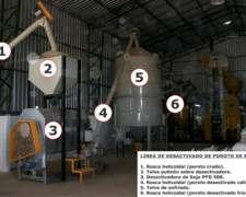 Desactivadora de Soja Profarmer de 500 Kg/hora de Capacidad