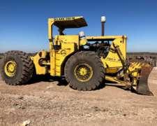 Tractor Topadora Sobre Neumáticos Forestal