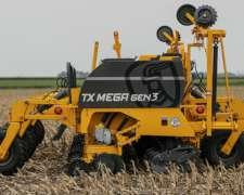 Nueva, Agrometal TX Mega GEN 3, año 2020.