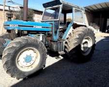 Tractor Ford 8030, 130 Hp Y 3 Puntos