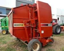 Rotoenfardadora Hesston 956 Usada