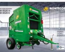 Rotoenfardadora M 8520h - M8520e Montecor