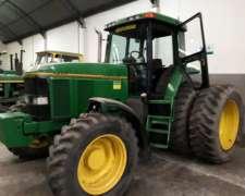 Tractor John Deere 7800,tracción Doble muy Buen ESTADO,1998