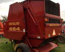 Rotoenfardadora New Holland 664