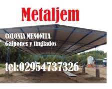 Galpones Y Tinglados Colonia Menonita La Pampa.directo De Fa