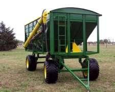 Acoplado Tolva Semillas Fertilizantes 12 TT. 15 MTS3 Semill