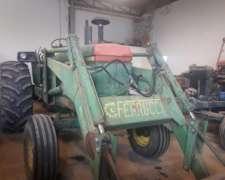 Tractor John Deere 4040 con Pala