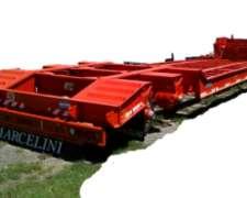 Semiremolque Carreton 2 Lineas De Ejes Trunnion