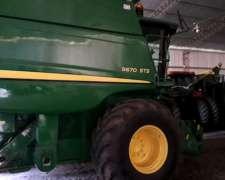 John Deere 9670 STS año 2011 - 2200/1700 HS. de Productor