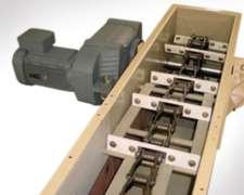 Transporte A Cadena Para Materiales A Granel