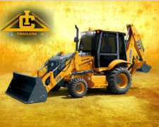 Retroexcavadora XT870 Xcmg 4X4 Plan Canje Cereales Palaretro