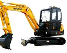 Excavadora Sobre Orugas Liugong CLG 904d